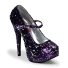 TEEZE-07SQ Purple/Silver Sequins